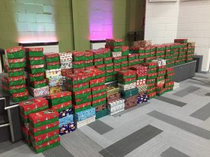 Operation Christmas Child shoeboxes 2017