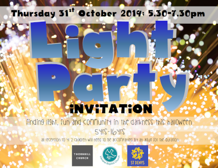 Light Party - 31st October 2019