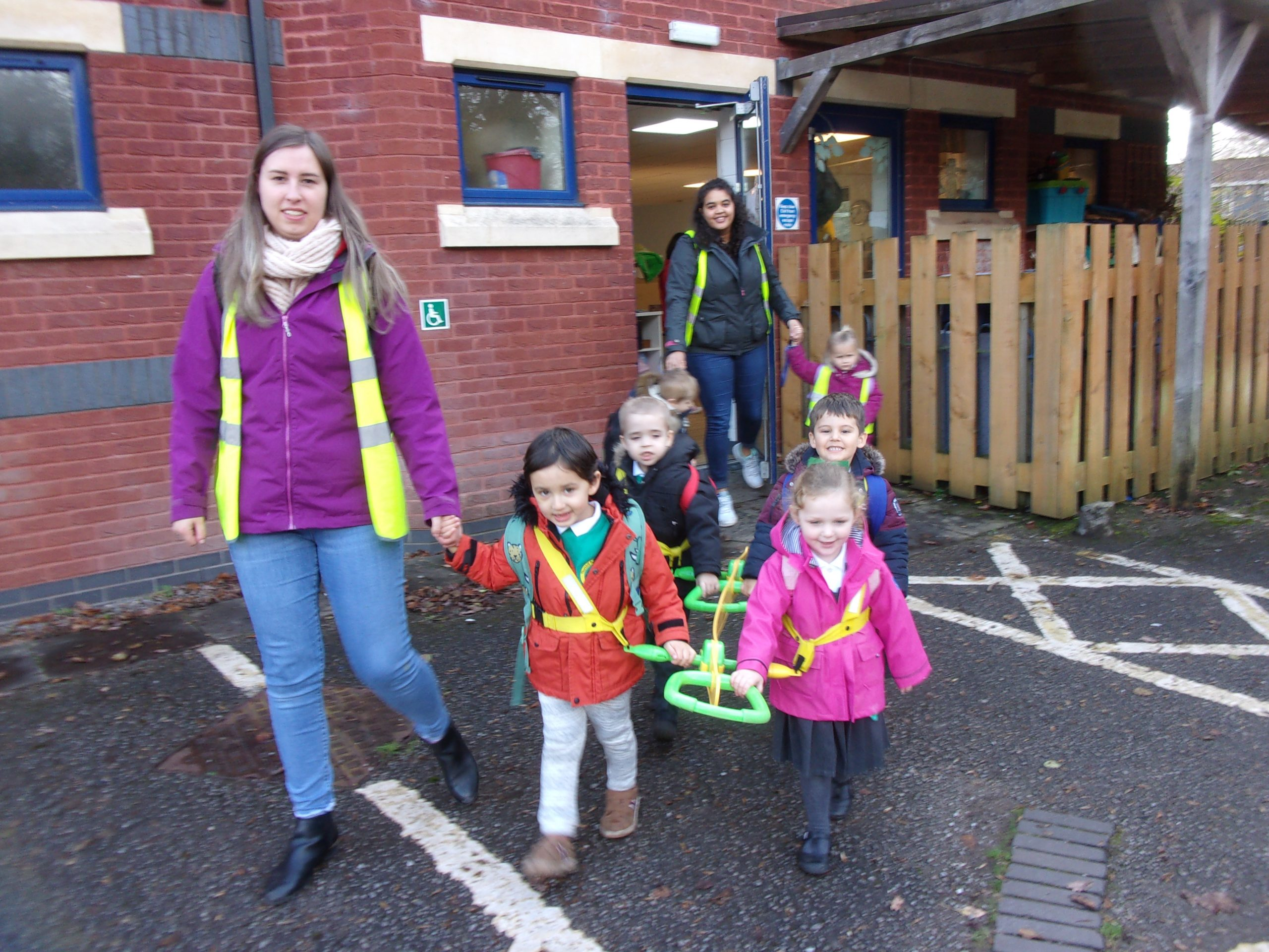 Walkover to Thornhill Primary School