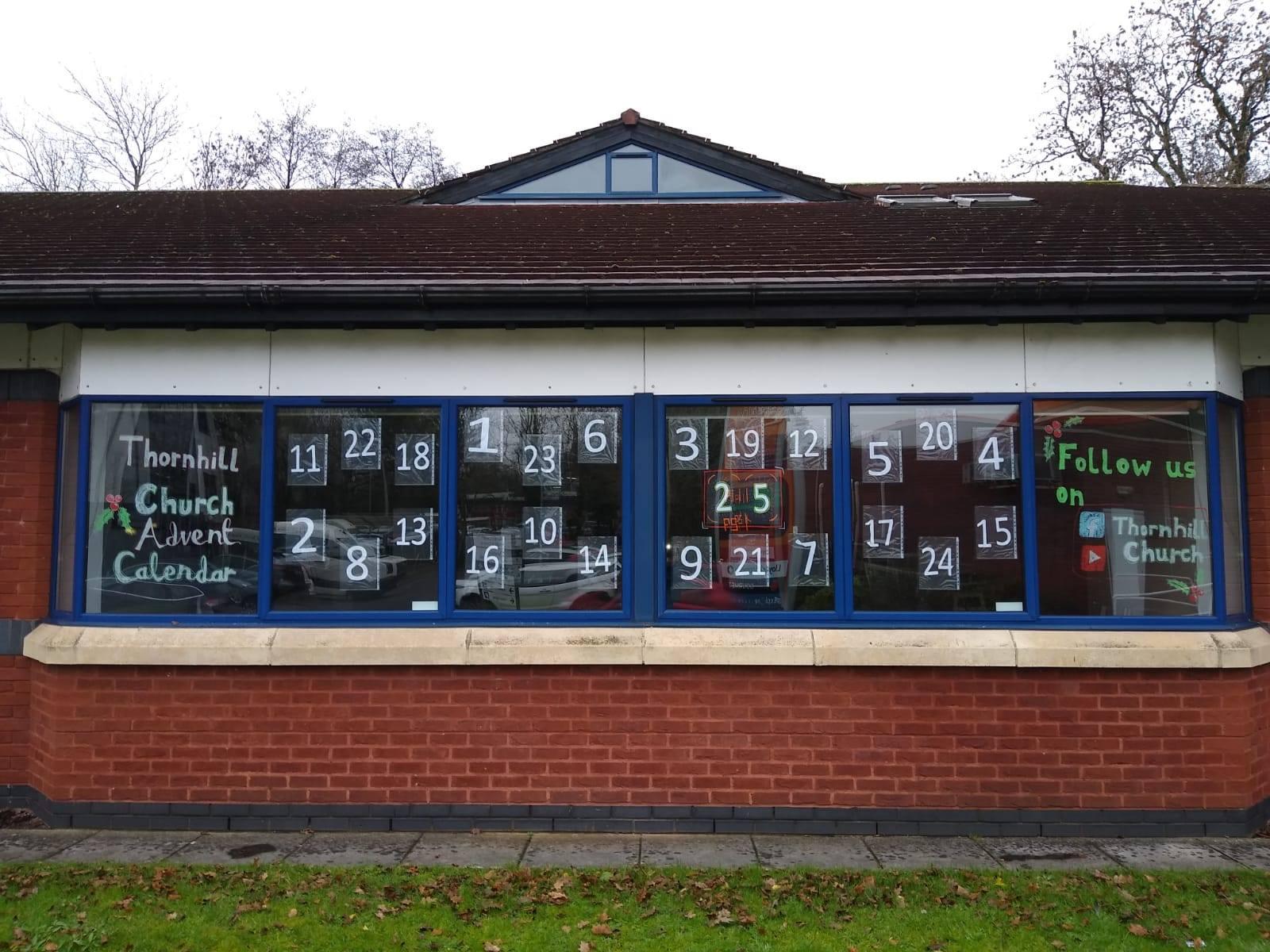 The biggest advent calendar in Thornhill?